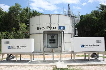 Tratamiento de aguas residuales en tanque(s) GFS