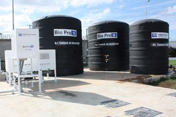 tratamiento de aguas residuales versión compacta